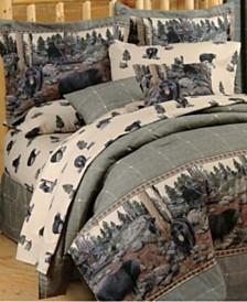 Blue Ridge Trading The Bears Queen Comforter Set