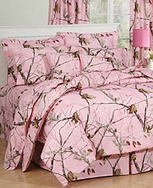 Realtree APC Pink Twin Comforter Set