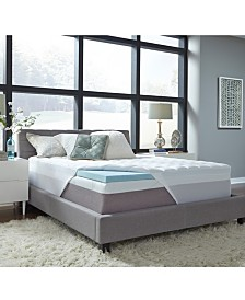 "3.5"" Comforpedic from Beautyrest Gel Mattress Topper Collection"