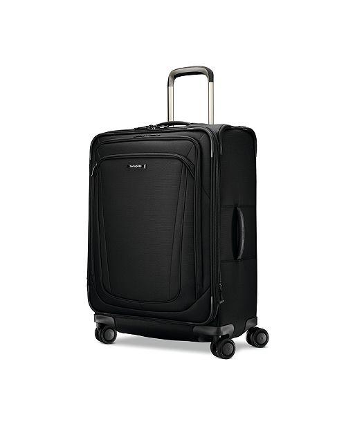 "Samsonite Silhouette 16 25"" Softside Expandable Spinner Suitcase"