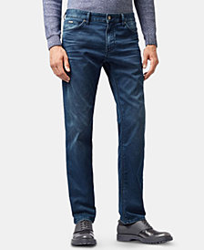 BOSS Men's Regular/Classic Fit Stretch Denim Jeans
