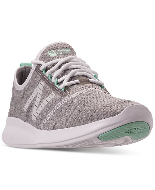 21713828024e ... New Balance Women s FuelCore Coast V4 Running Sneakers from Finish ...
