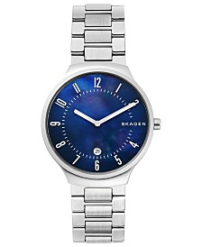 Skagen Men's Grenen Stainless Steel Bracelet Watch 38mm