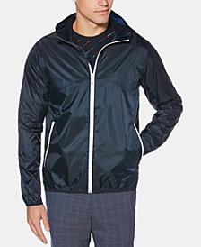 Perry Ellis Men's Hooded Bomber Jacket