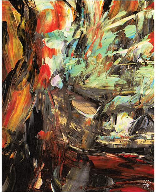 """Creative Gallery Madness Abstract 16"""" x 20"""" Acrylic Wall Art Print"""