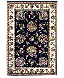 "KAS Cambridge Floral Mahal 7'7"" Octagon Area Rug"