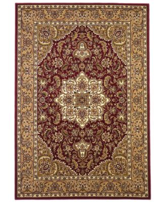 "Cambridge Kashan Medallion 7'7"" Round Area Rug"