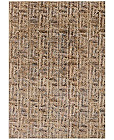 "Dreamscape DM-09 Ivory/Multi 6'7"" x 9'2"" Area Rug"