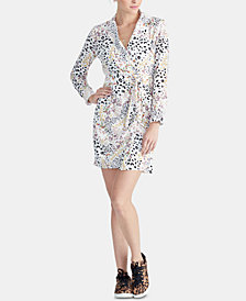 RACHEL Rachel Roy Tie-Front Shirtdress, Created for Macy's