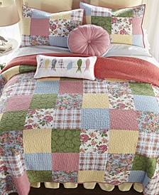Sunny Patch Cotton Quilt Collection, Queen