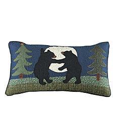 Bear Dance Rectangle Decorative Pillow