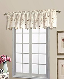 "Loretta 52"" X 18"" Shaped Valance"