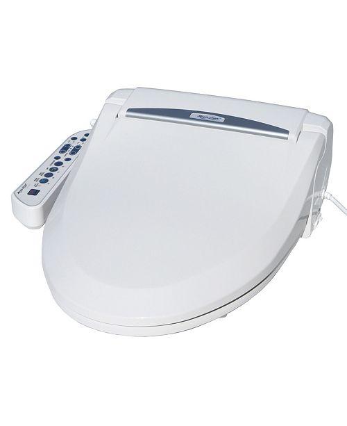 Spt Appliance Inc Magic Clean Bidet With Dryer Elongated