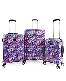 Bebe Gia 3-Piece Luggage Set