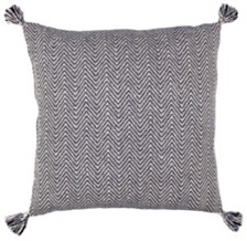 LR Home Double Chevron Large Floor Pillow