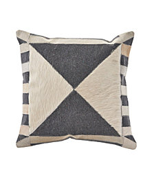 LR Home Geo Modern Farmhouse Throw Pillow