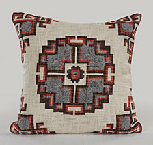 LR Home Geometric Decorative Throw Pillow