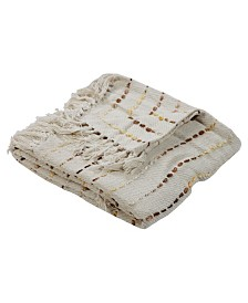 LR Home Dashing Decorative Throw Blanket