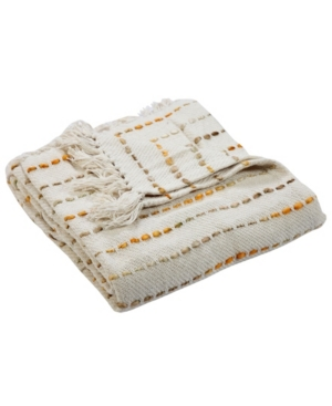 Image of Lr Home Mustard Decorative Throw Blanket