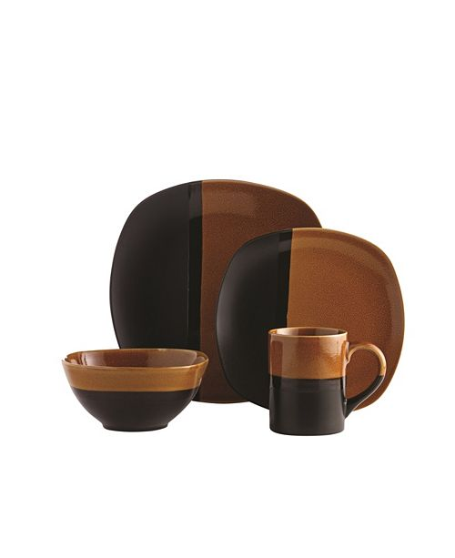 Over and Back Montego 16Pc Dinnerware Set
