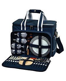 Ultimate Picnic Cooler Equipped for 4 with Accessories