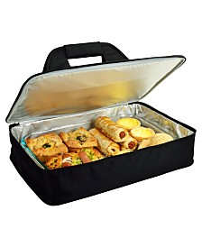 Picnic at Ascot Insulated Food or Casserole Carrier to keep Food Hot or Cold