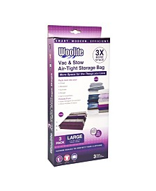 Woolite 3 Piece Air-Tight Large Vacuum Storage Bags