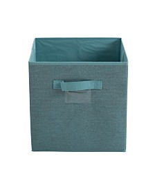 Simplify Collapsible Storage Cube in Dusty Blue