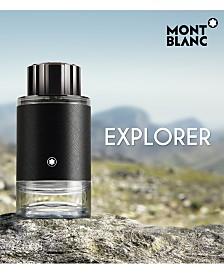 Montblanc Men's Explorer Eau de Parfum Fragrance Collection