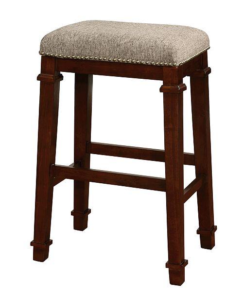 Linon Home Decor Kennedy Backless Bar Stool Reviews Furniture