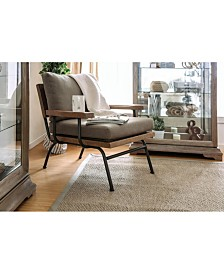 Fabric Upholstered Accent Chair