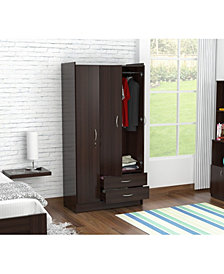 Inval America Three Door Wardrobe/Armoire