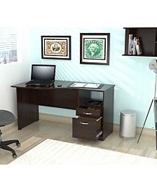 Inval America Curved Top Desk