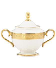 Lenox Westchester Sugar Bowl with Lid