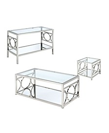 Beller Contemporary 3-Piece Table Set