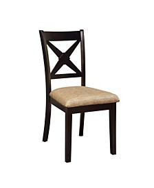 Hulledge Contemporary Dining Chair (Set of 2)