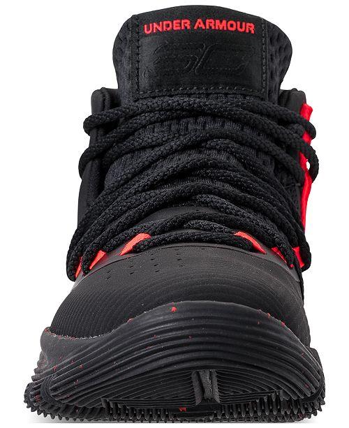 big sale ef17e 69782 Under Armour Little Boys' Curry 3Zero II Basketball Sneakers ...
