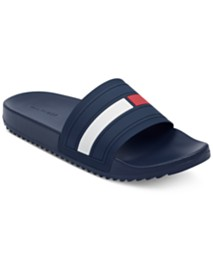 c7b88608 Tommy Hilfiger Men's Relwood Slide Sandals