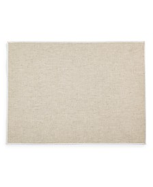 Hotel Collection Overlock Edge Placemat, Natural, Created for Macy's