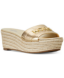 MICHAEL Michael Kors Brady Platform Slide Sandals