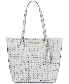 Brahmin Asher La Scala Embossed Leather Tote
