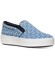cf594de4ee9c7 Michael Kors Keaton Slip-On Logo Sneakers   Reviews - Sneakers ...