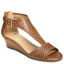 Sapphire Wedge Sandals