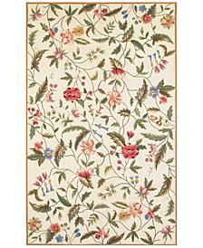 Colonial Springtime Views 1783 Ivory 2' x 8' Runner Area Rug