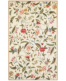 KAS Colonial Springtime Views 1783 Ivory Area Rug