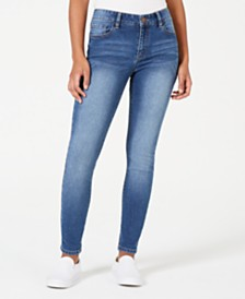 Tinseltown Juniors' Skinny Ankle Jeans