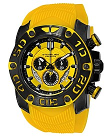 Original Black IPb Case, Yellow Dial, Black and Yellow Bezel, and Yellow High Grade Silicon Rubber Strap