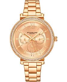 Stuhrling Original Women's Multi-Function Case and Bracelet Watch