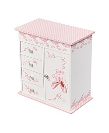 Mele & Co. Cristiana Girl's Musical Ballerina Jewelry Box