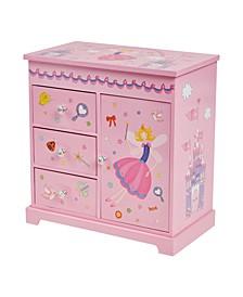 Krista Girl's Musical Ballerina Jewelry Box
